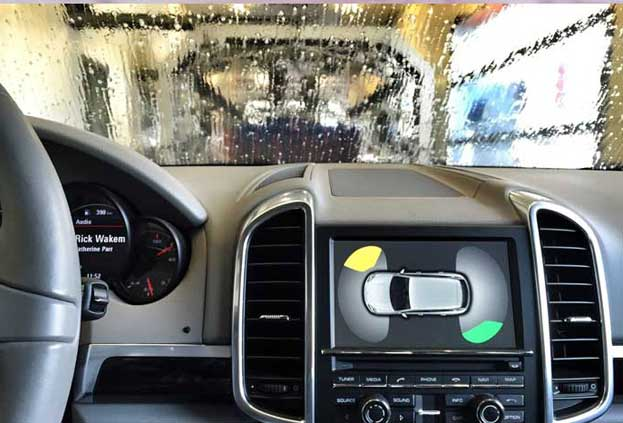 Máquina lavado coches